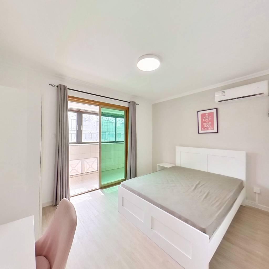 合租·麒麟花园A区 3室1厅 西南卧室图