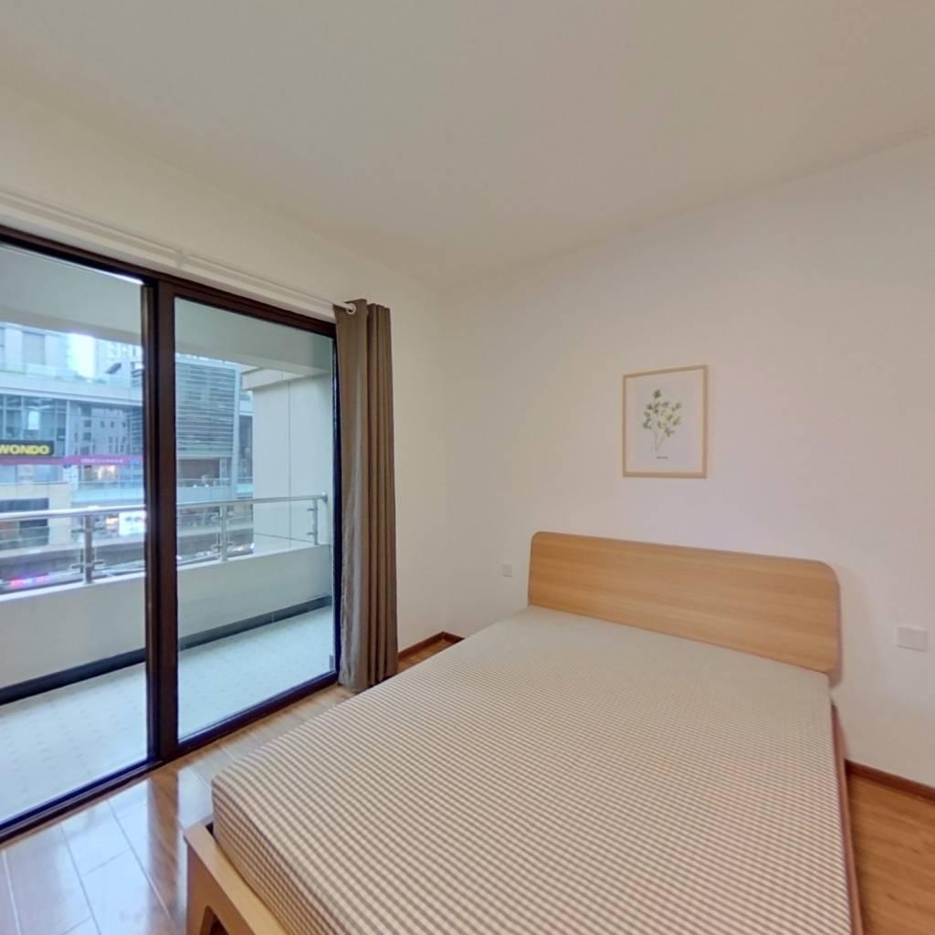 合租·怡湖华庭 4室1厅 北卧室图