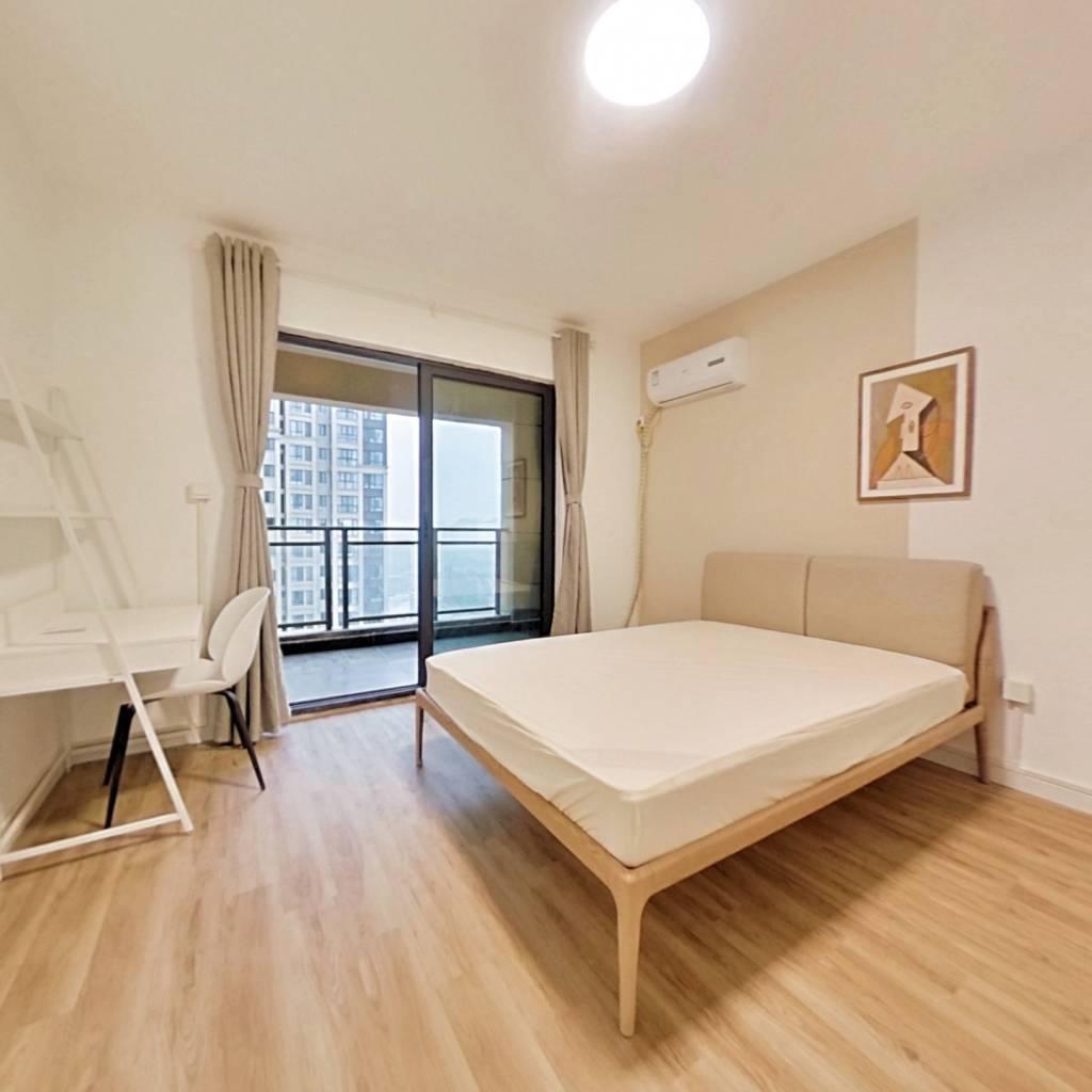 合租·中建御景星城 4室1厅 北卧室图
