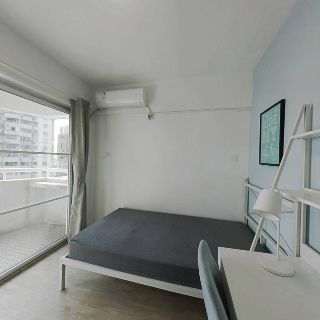 合租·广信美景大厦 3室1厅 南卧室图