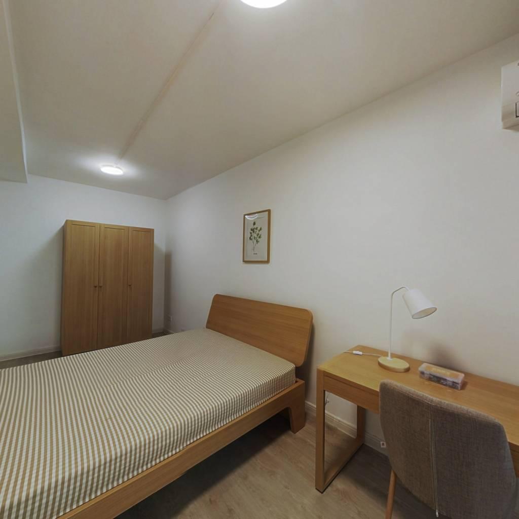 合租·跑马地花园 3室1厅 北卧室图