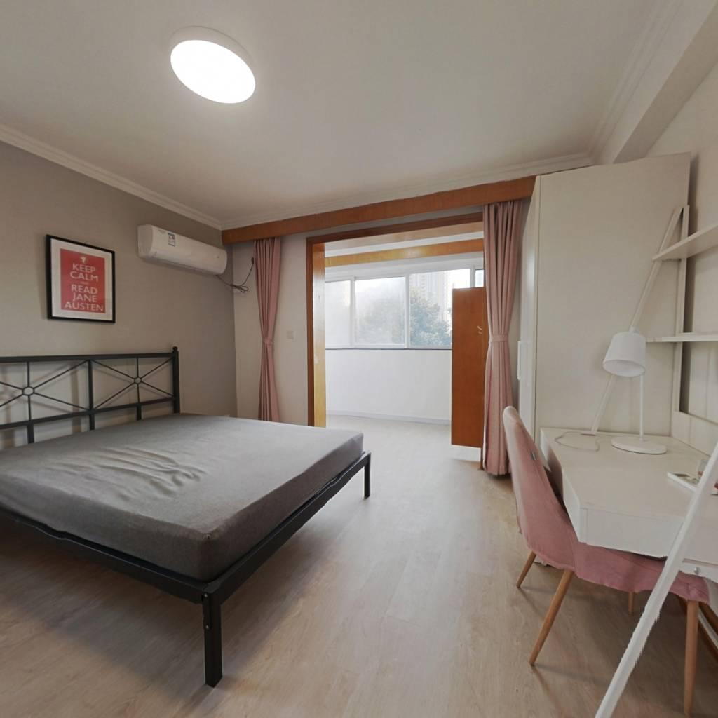 合租·锦南花苑 4室1厅 南卧室图