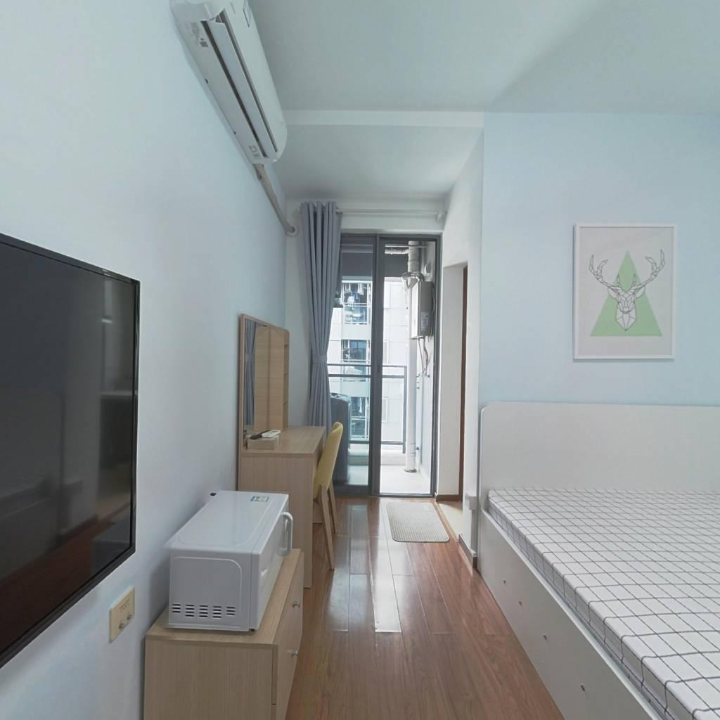 整租·七街公馆 1室1厅 南卧室图