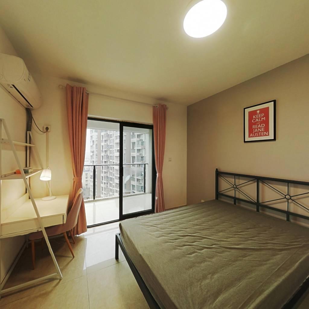 合租·优客联邦三期 3室1厅 西卧室图