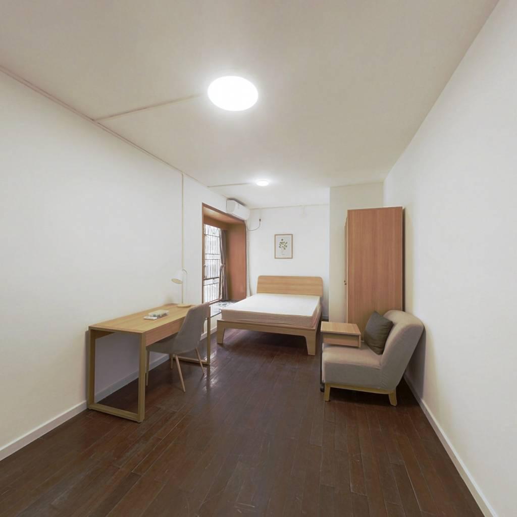 合租·华景新城逸悦居 4室1厅 北卧室图