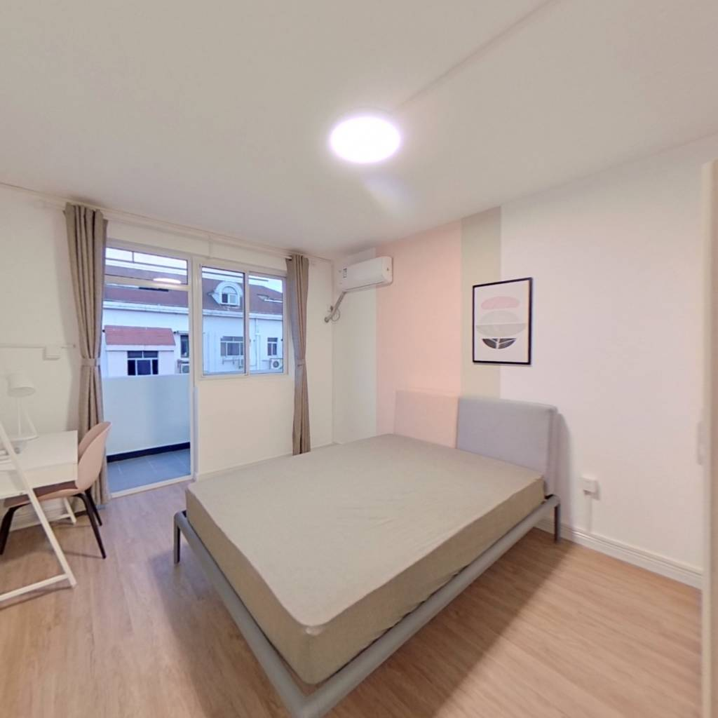 合租·秀枫翠谷 3室1厅 北卧室图