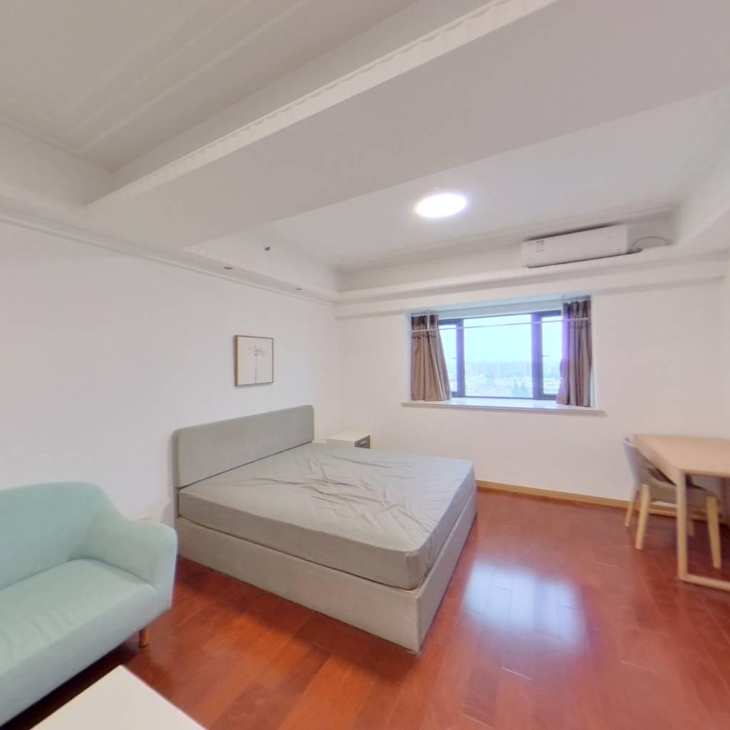 整租·大上海国际花园酒店公寓 1室1厅 西卧室图