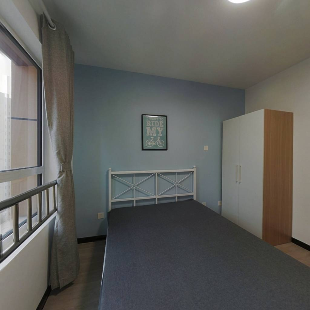 合租·盛庭豪景 3室1厅 北卧室图
