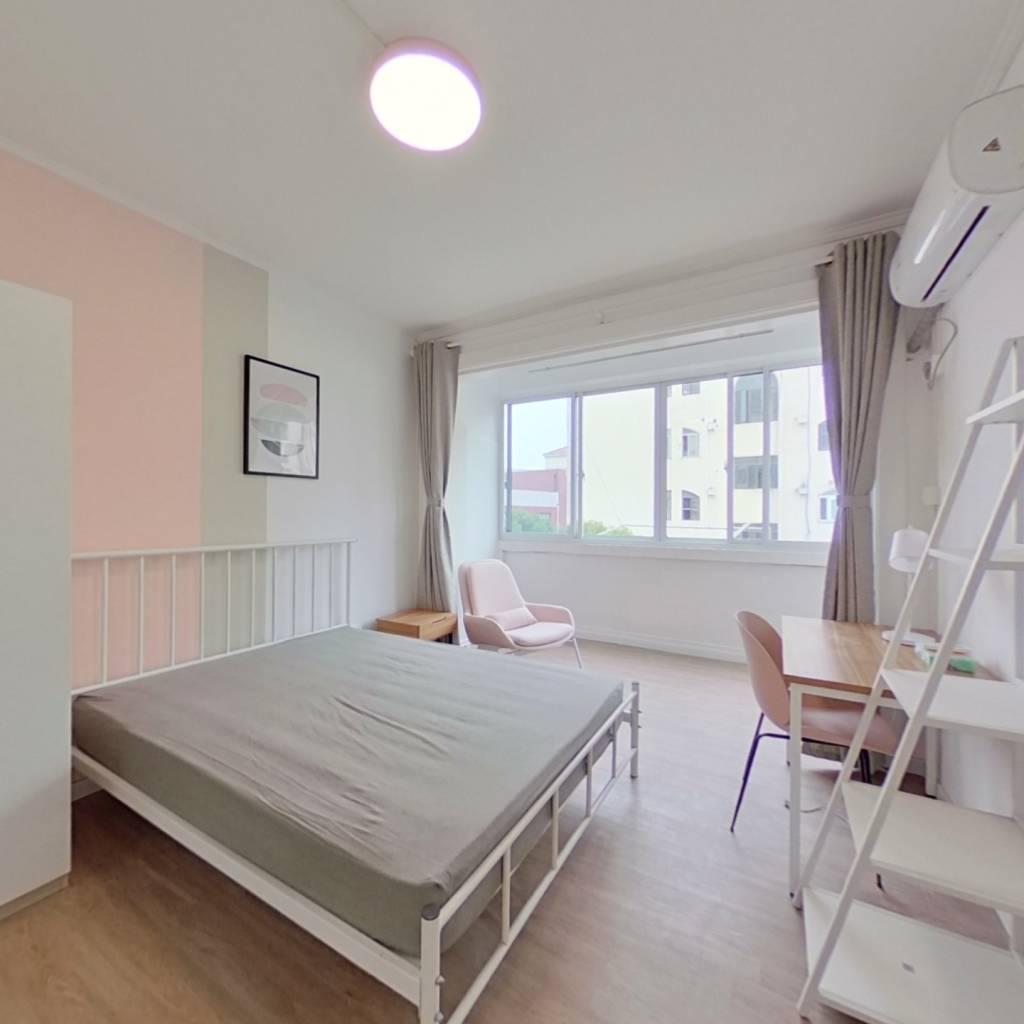 合租·虹御公寓 4室1厅 西卧室图