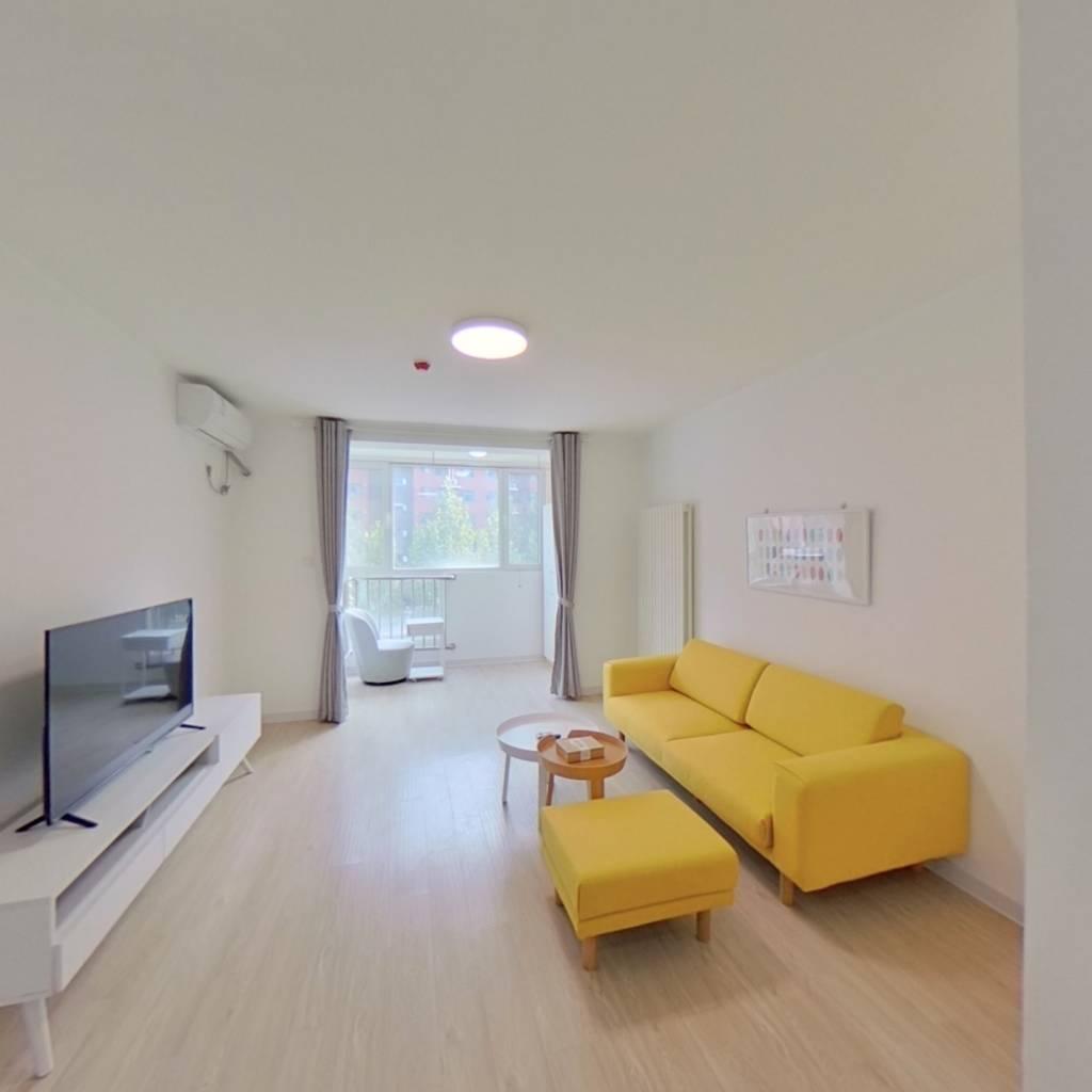 整租·柳浪家园东里 2室1厅 南北卧室图