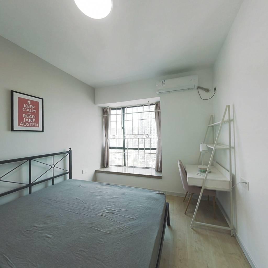合租·新世界东逸花园 4室1厅 北卧室图