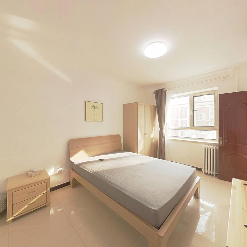 整租·工体东路 2室1厅 南卧室图