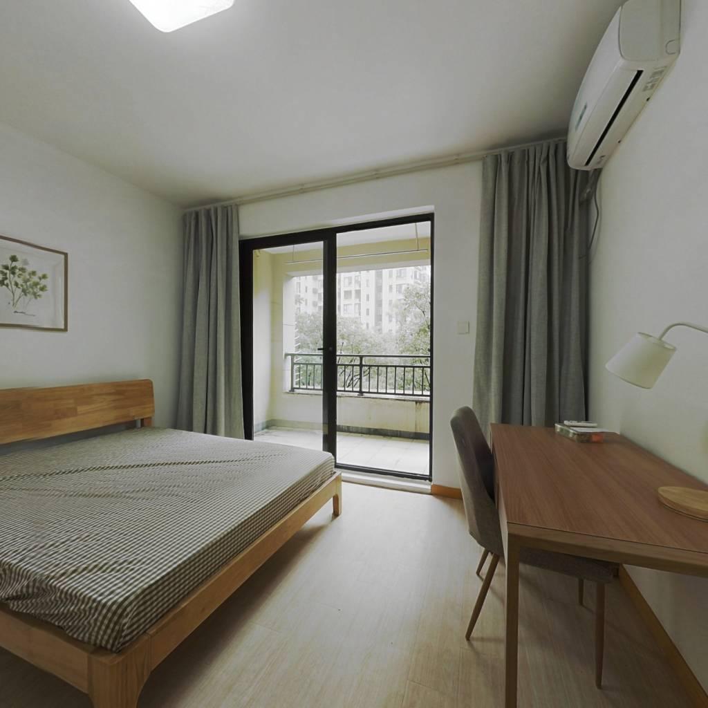 合租·龙湖武林九里 4室1厅 北卧室图