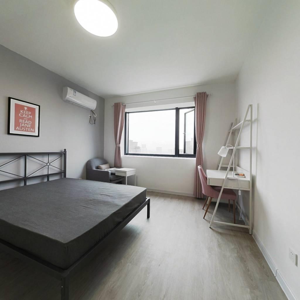 合租·理想康城国际 4室1厅 南卧室图