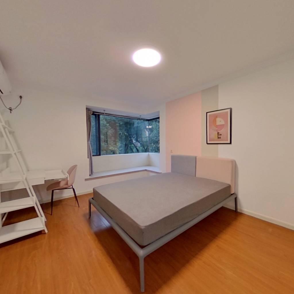 合租·万科魅力之城 4室1厅 南卧室图