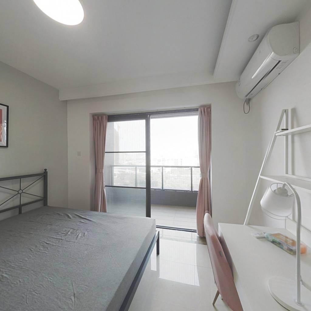 合租·新世界凯粤湾 4室1厅 北卧室图