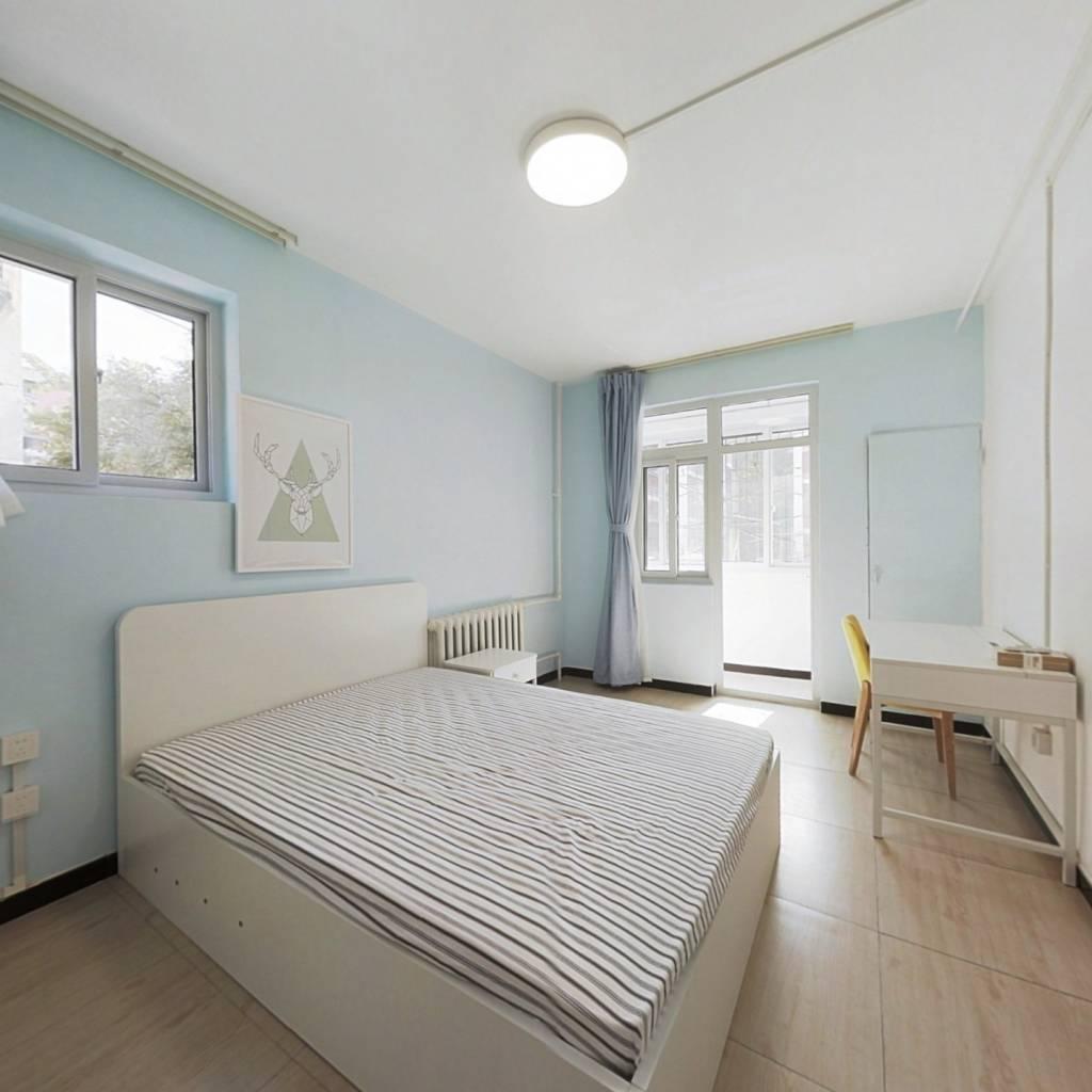 整租·铁西小区 2室1厅 南北卧室图