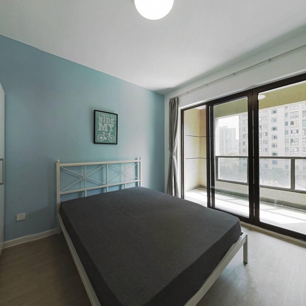 合租·水墩苑一区 4室1厅 南卧室图