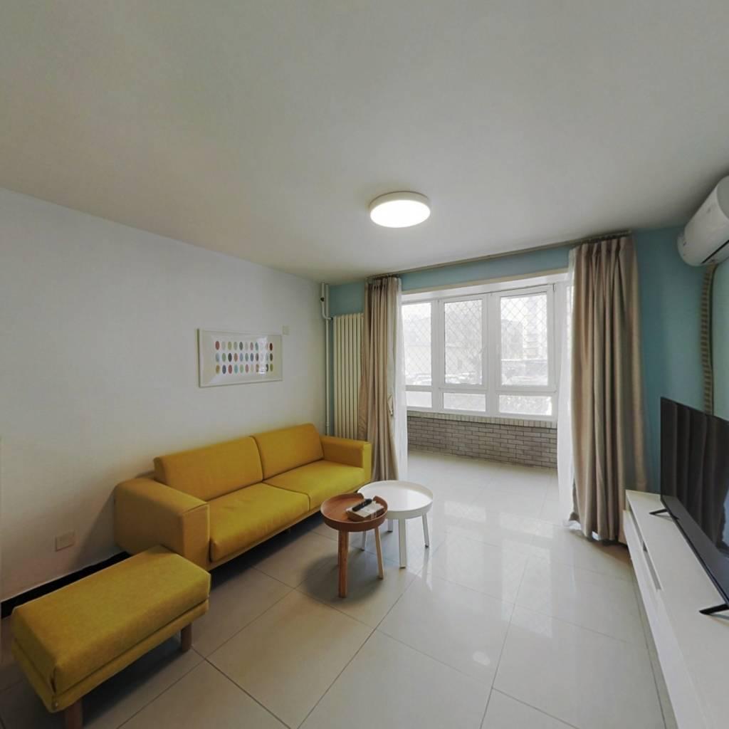 整租·紫萝园 2室1厅 西南卧室图