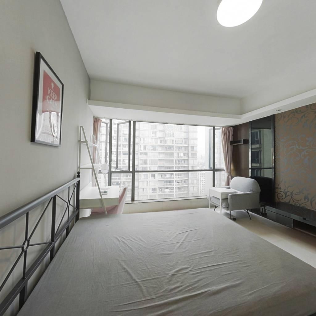 合租·中怡城市花园 5室1厅 北卧室图