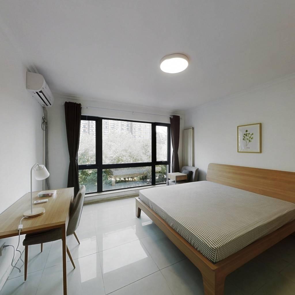 合租·合生国际花园 4室1厅 南卧室图
