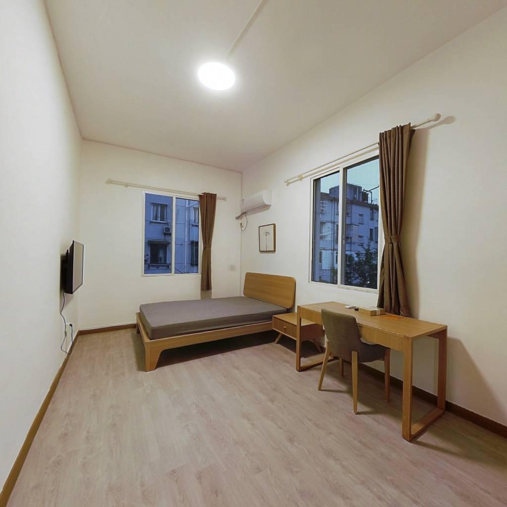 整租·长白三村 2室1厅 南北卧室图