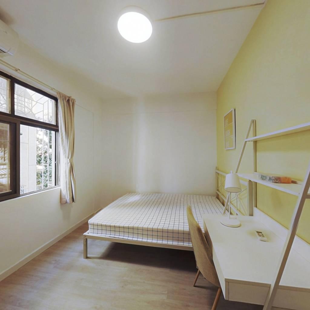 合租·六运小区 3室1厅 西卧室图
