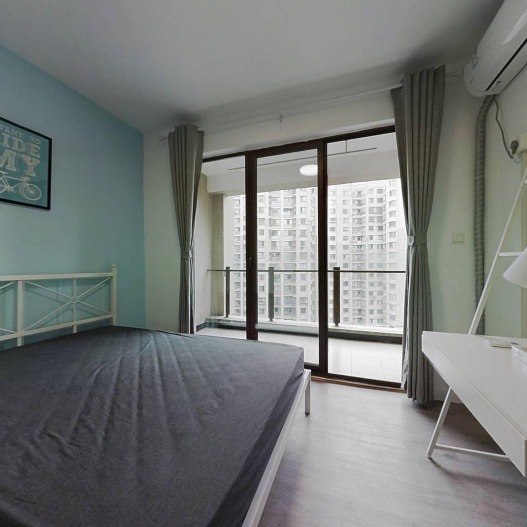 合租·金牛万达D组团 3室1厅 东卧室图