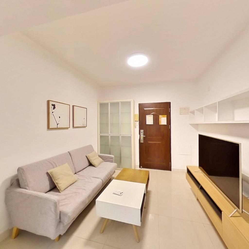 整租·中润百分百公寓 1室1厅 东卧室图
