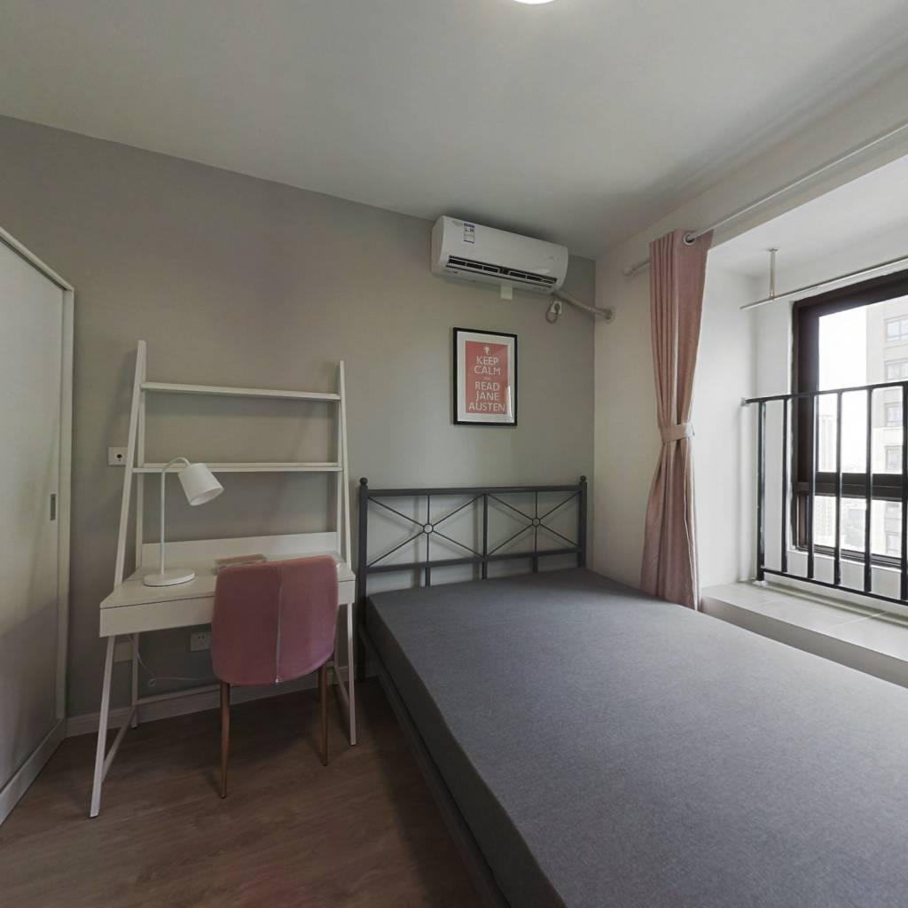 合租·龙湖春江紫宸 4室1厅 南卧室图