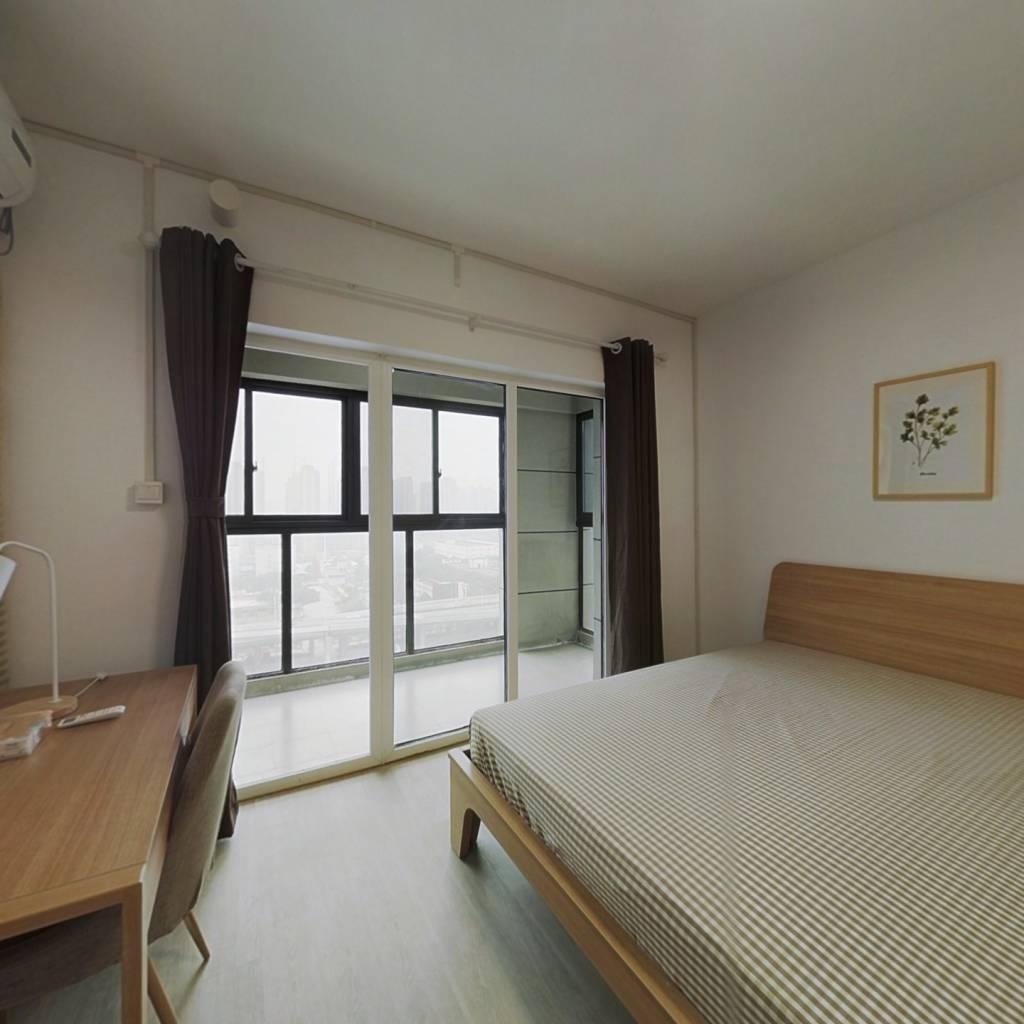 合租·汉阳人信汇四期天誉 4室1厅 北卧室图