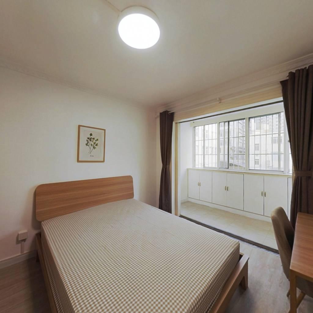合租·懿德公寓 4室1厅 南卧室图