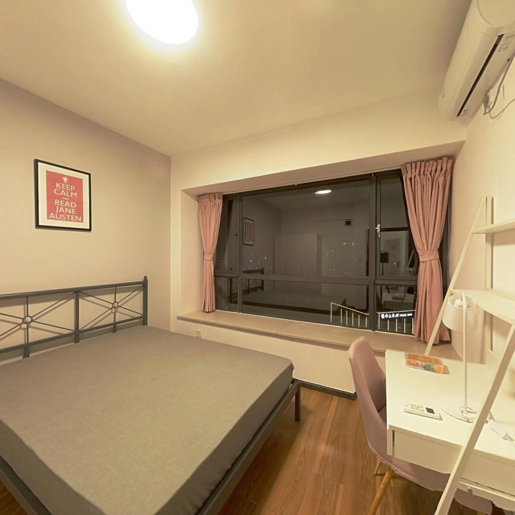 合租·英郡一期 3室1厅 东南卧室图