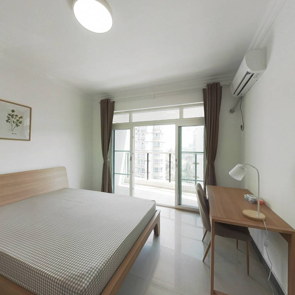 合租·自在城市花园一二期 4室1厅 南卧室图
