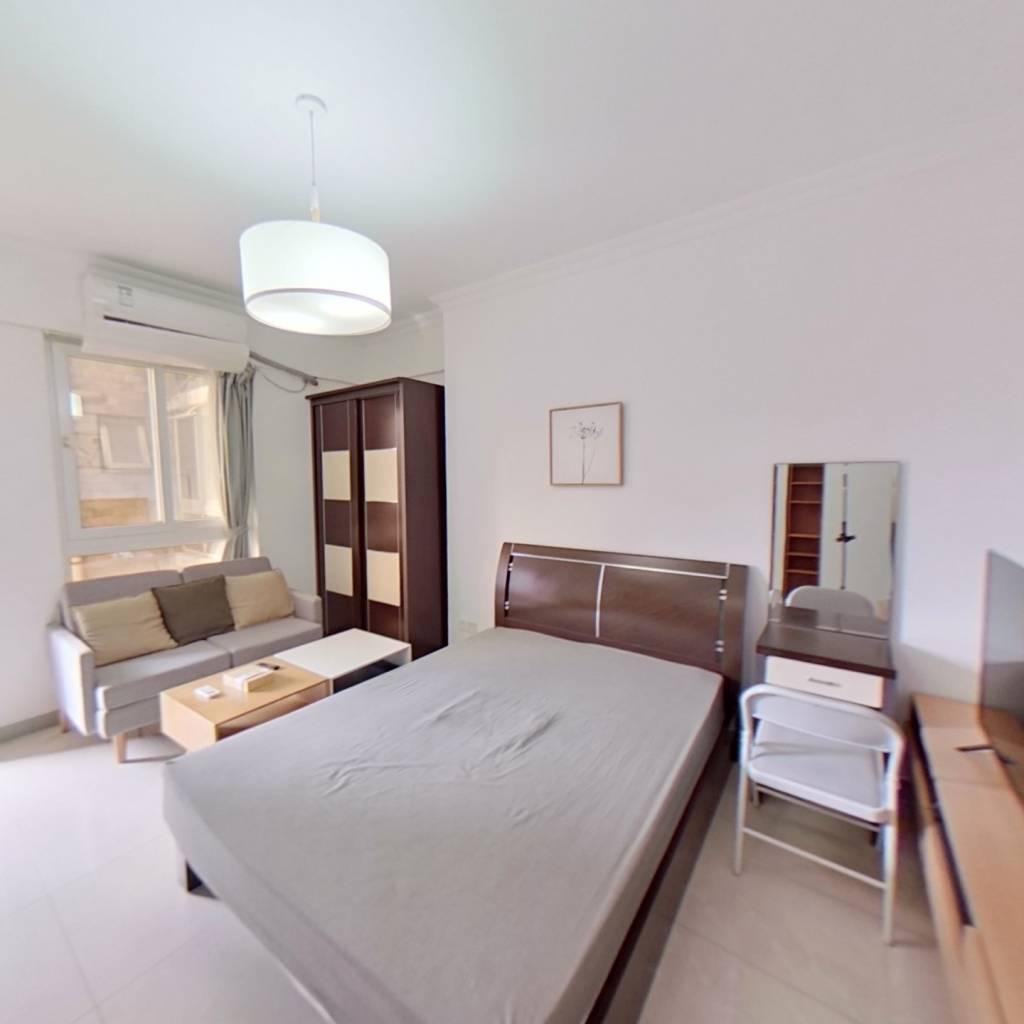 整租·双城国际公寓 1室1厅 南卧室图