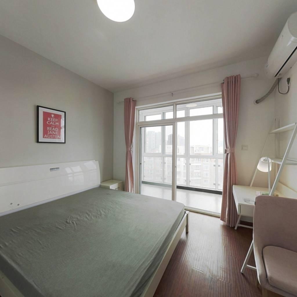 合租·红枫岭二期 3室1厅 南卧室图