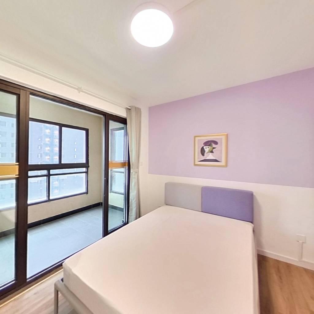 合租·金浦御龙湾 3室1厅 南卧室图