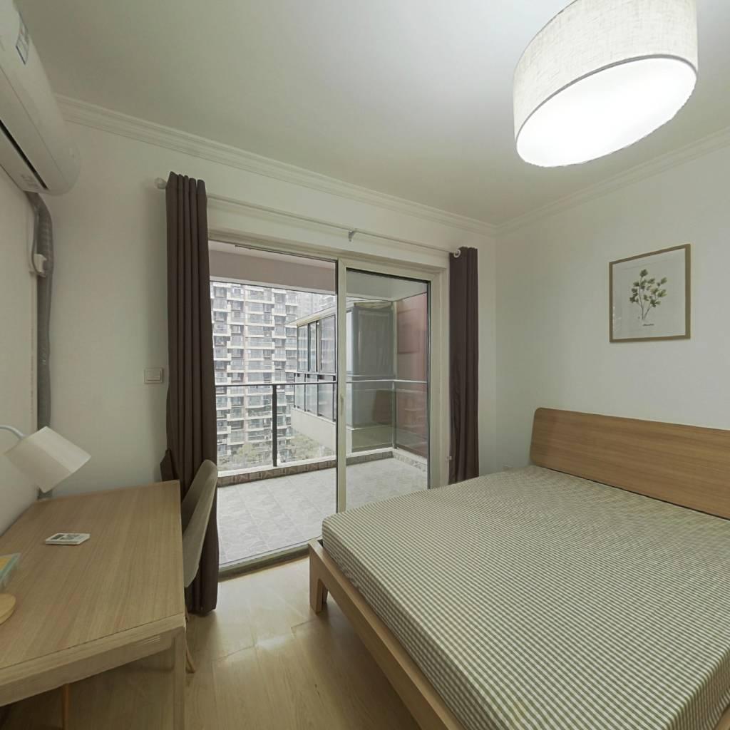 合租·首创国际城二期 4室1厅 西南卧室图
