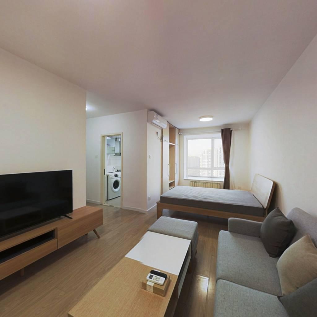 整租·上元君庭 1室1厅 北卧室图