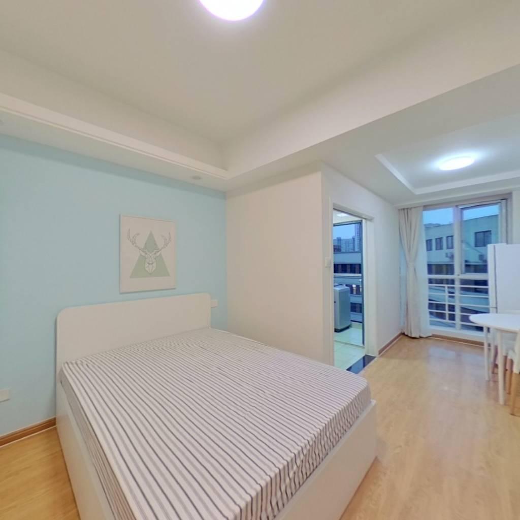 整租·凯悦新城 1室1厅 西北卧室图
