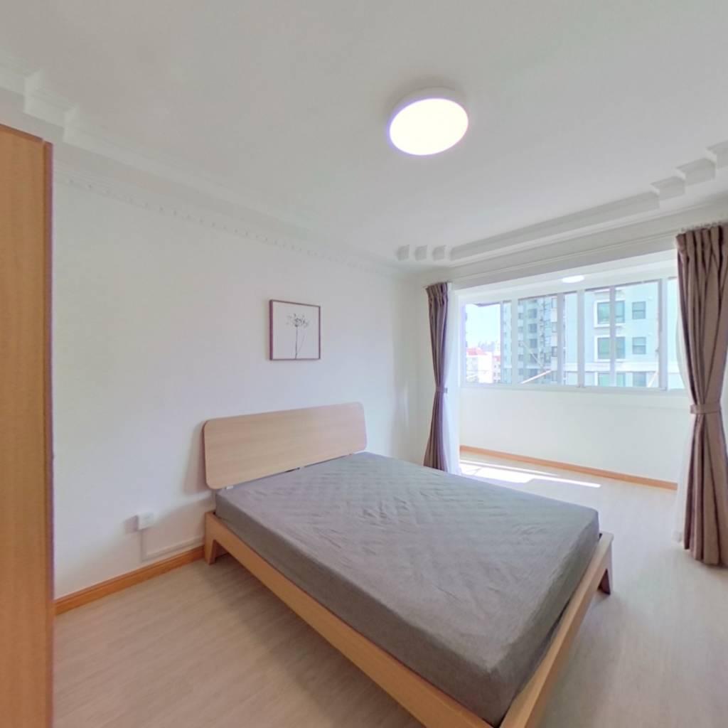 整租·龙山新村 1室1厅 南卧室图