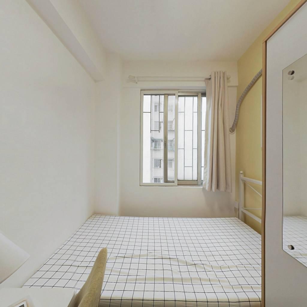 合租·员村公安宿舍 4室1厅 北卧室图