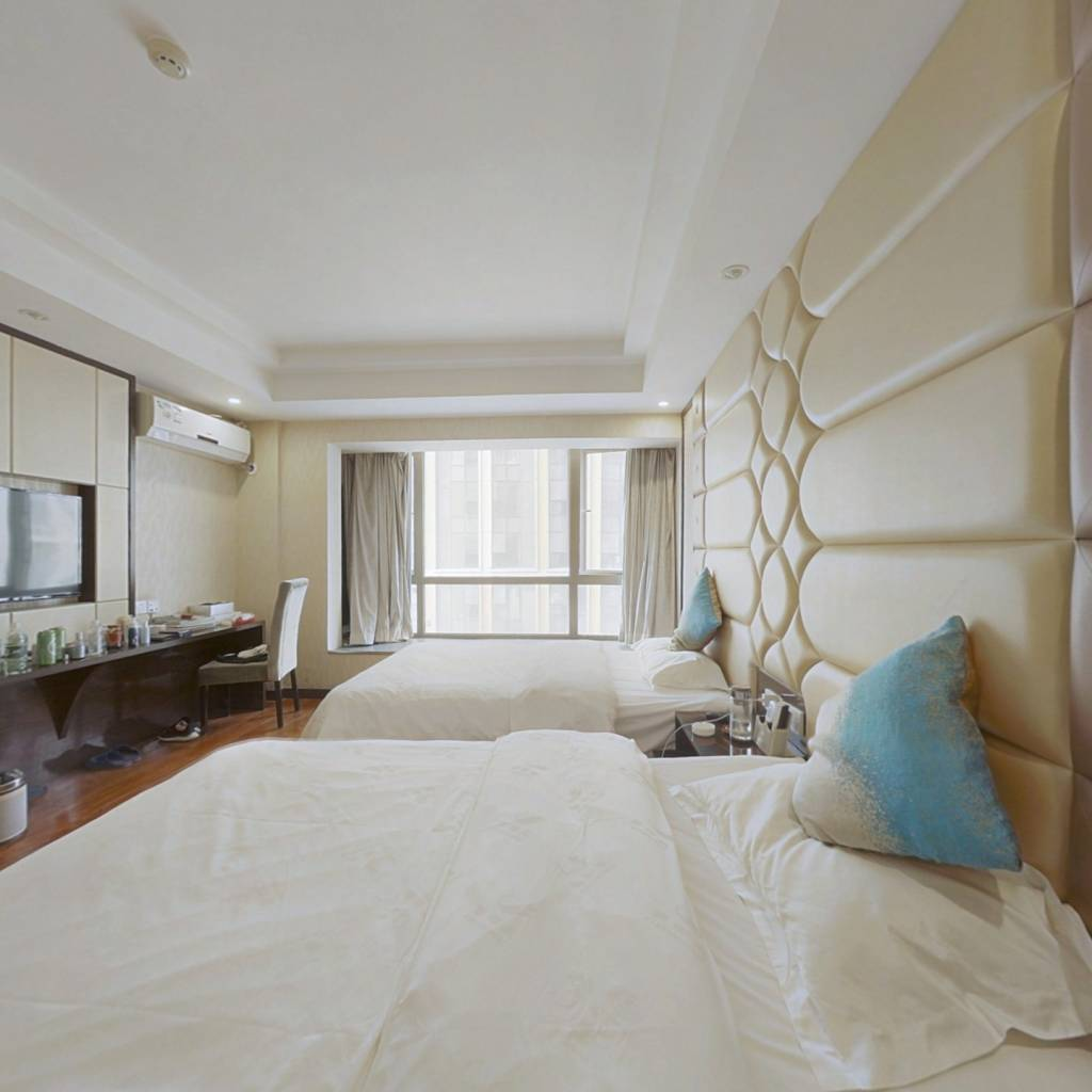 花果园商务区精装公寓一室一厅家电齐全拎包入住