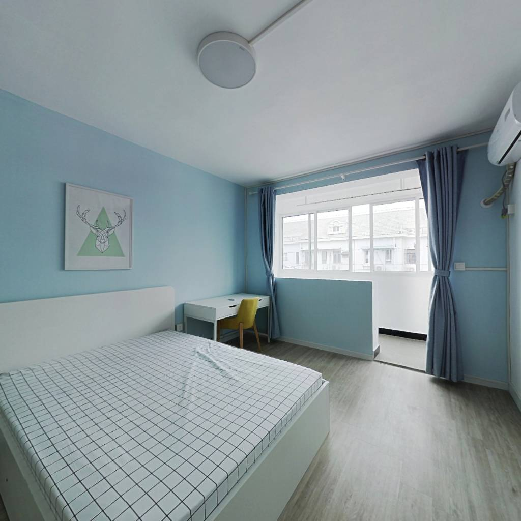 整租·共康五村 2室1厅 南卧室图