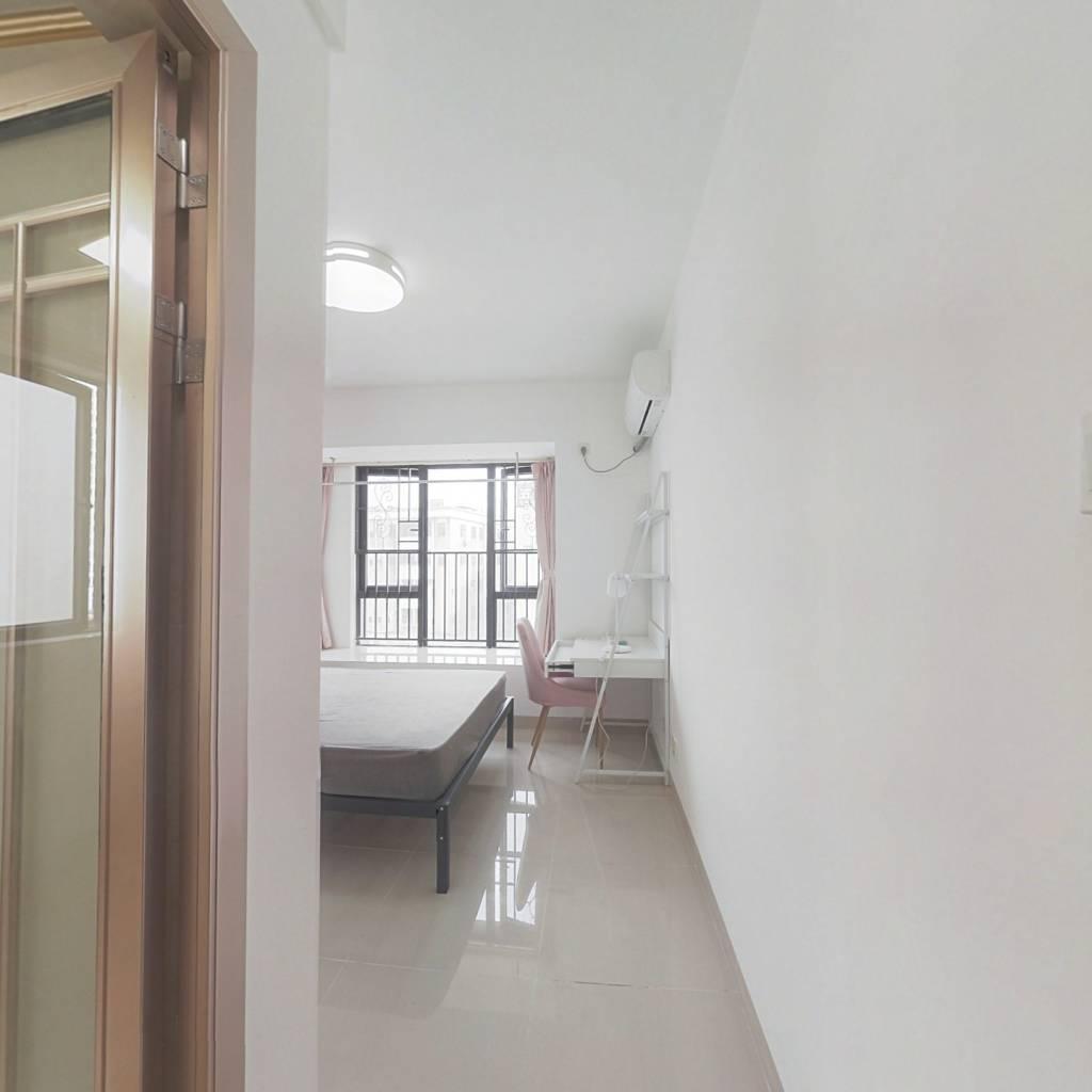 合租·金地龙城中央二期 4室1厅 北卧室图