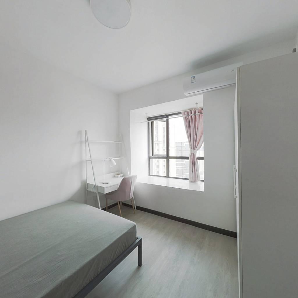 合租·汉口城市广场 3室1厅 南卧室图