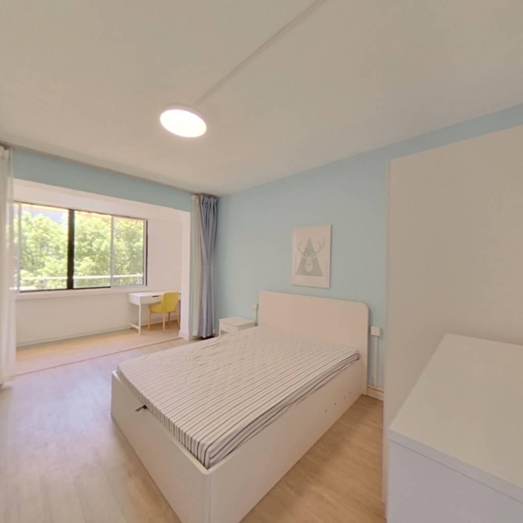 整租·朝晖四区 2室1厅 西南卧室图