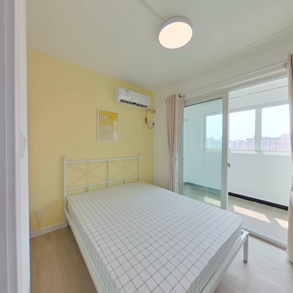 合租·欣乐苑(西苑) 3室1厅 北卧室图