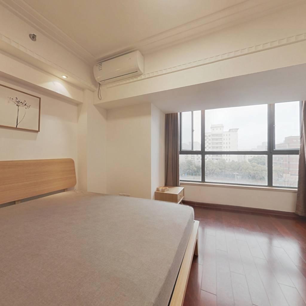 整租·大上海国际花园酒店公寓 1室1厅 东卧室图