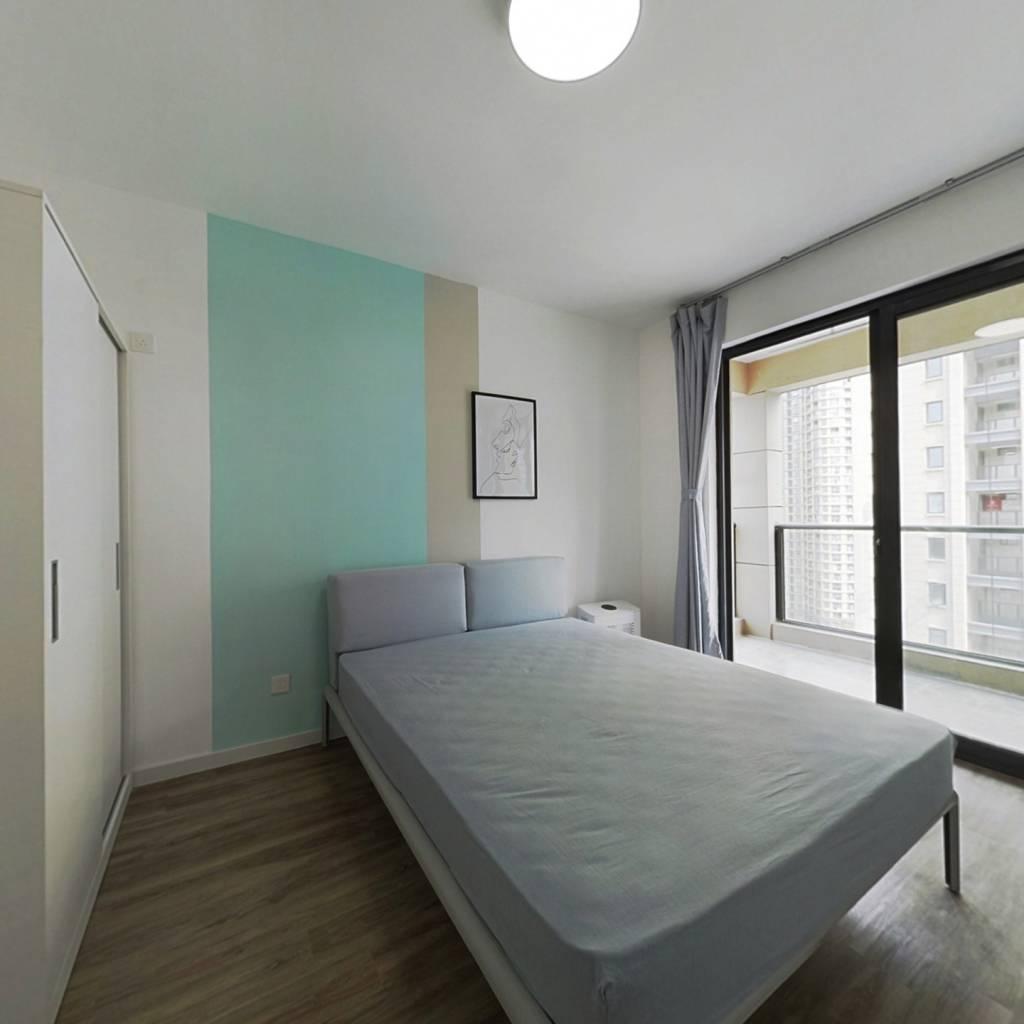 合租·三堡家园南区 4室1厅 南卧室图